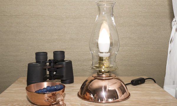Antique-Hurricane-Lamp---Electrical-version-copper