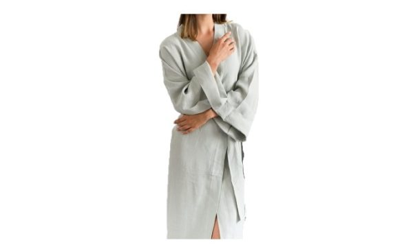 Livingstones Supply Co- Dressing gown moon grey
