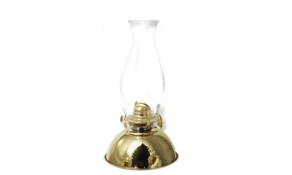 Antique-Parrafin-Lamp---Brass