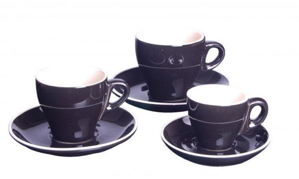 Italia Espresso Saucer Black 11.9cm