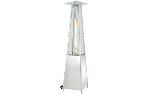 Patio Flame Gas Heater with Glass Tube