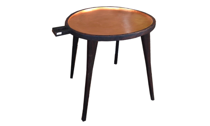 Ethopian Coffee Tray table - painted