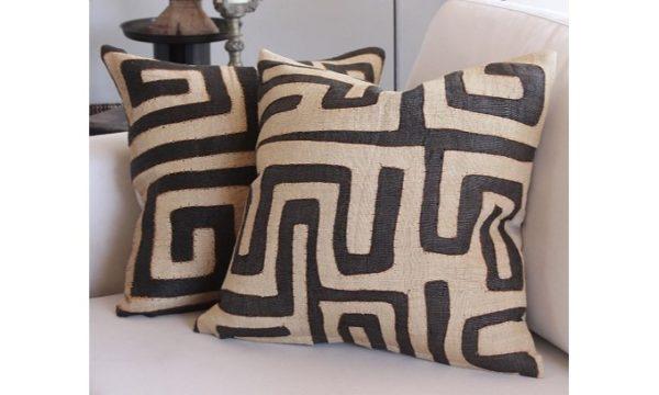Cuba Cloth cushion