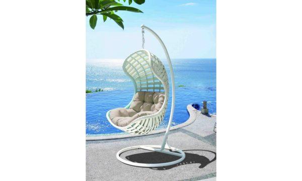 Daydreamber hanging chair white