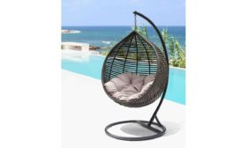 Daydreamer hanging chair coffee