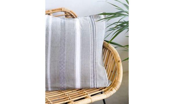 Mali Cushion Cover Grey
