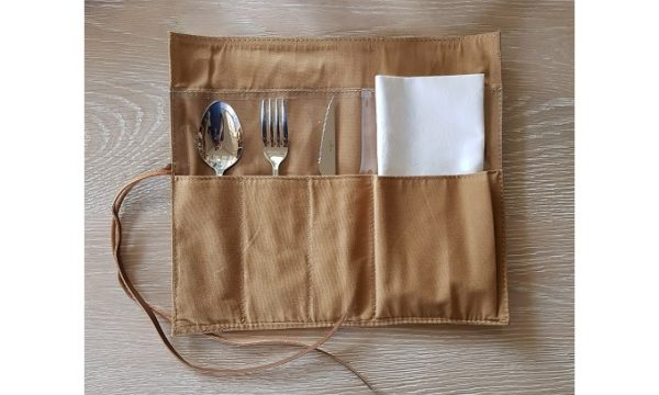 Cutlery and Napkin Roll