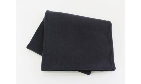 Game Drive Fleece Blanket Charcoal