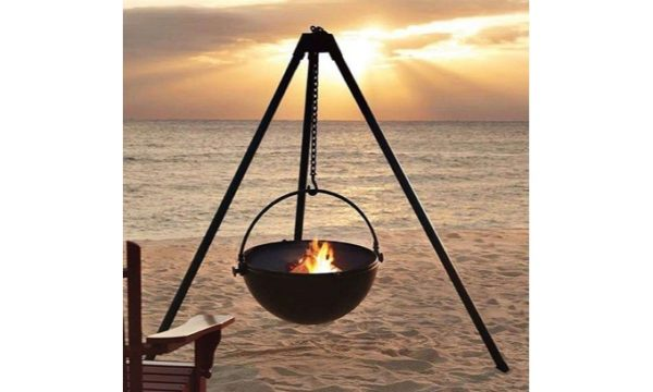LivingstonesTripod Hanging Firepit