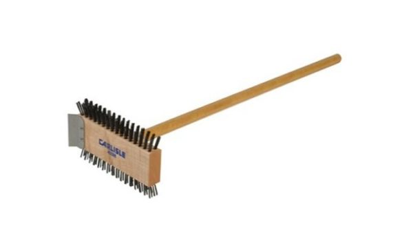 Livingstones Supply co - Carbon Steel Grill Brush