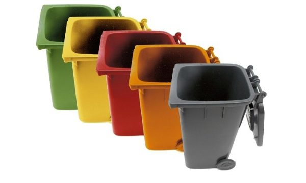 Livingstones Supply - Refuse bin 130l