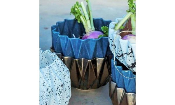 Livingstones Supply co - Africa Collection - Diamond Bowl Medium