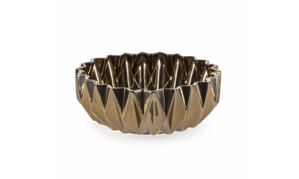 Livingstones Supply Co- Africa Collection - Diamond Bowl Large Bronze