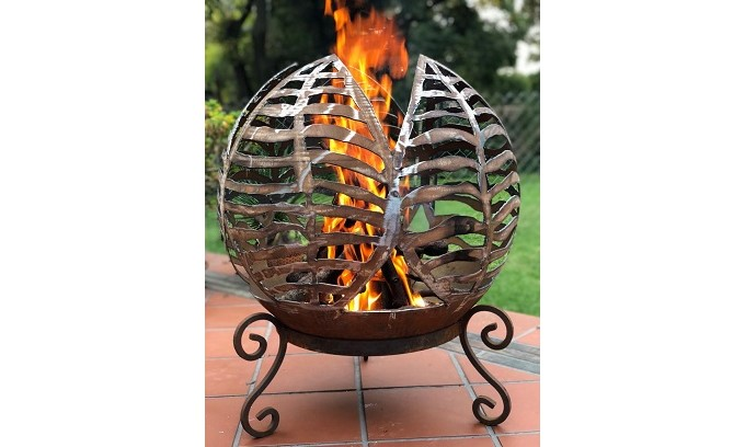 Carved Firebowl - Livingstones Supply Co