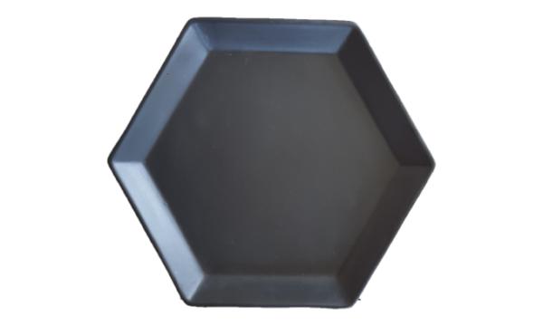 Large Hexagon Plate - Livingstones Supply co