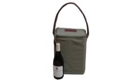 Canvas Wine Cooler 2 btl - Livingstones Supply Co