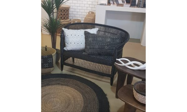 Malawi Couch Black - Livingstones Supply co