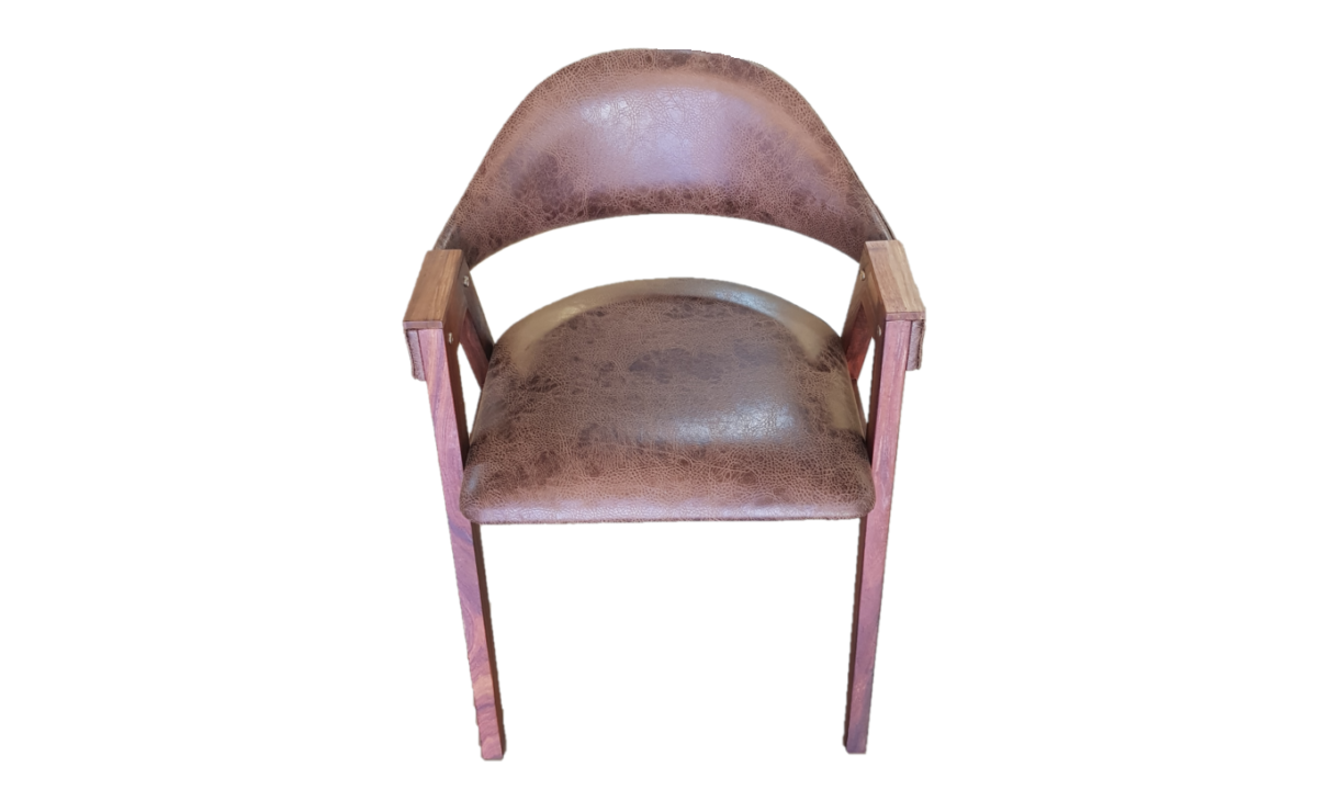 A-Frame Chair - Bonded Leather