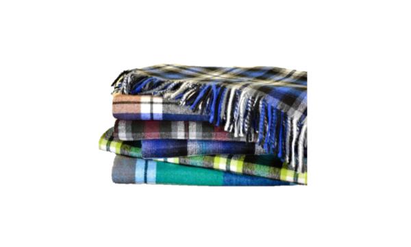 Top Check Blanket - Livingstone Supply co